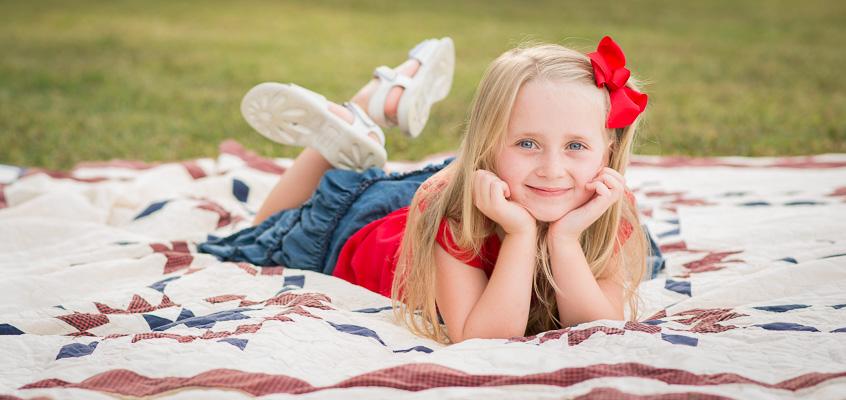 Patriotic Portraits | Kelley K Photography