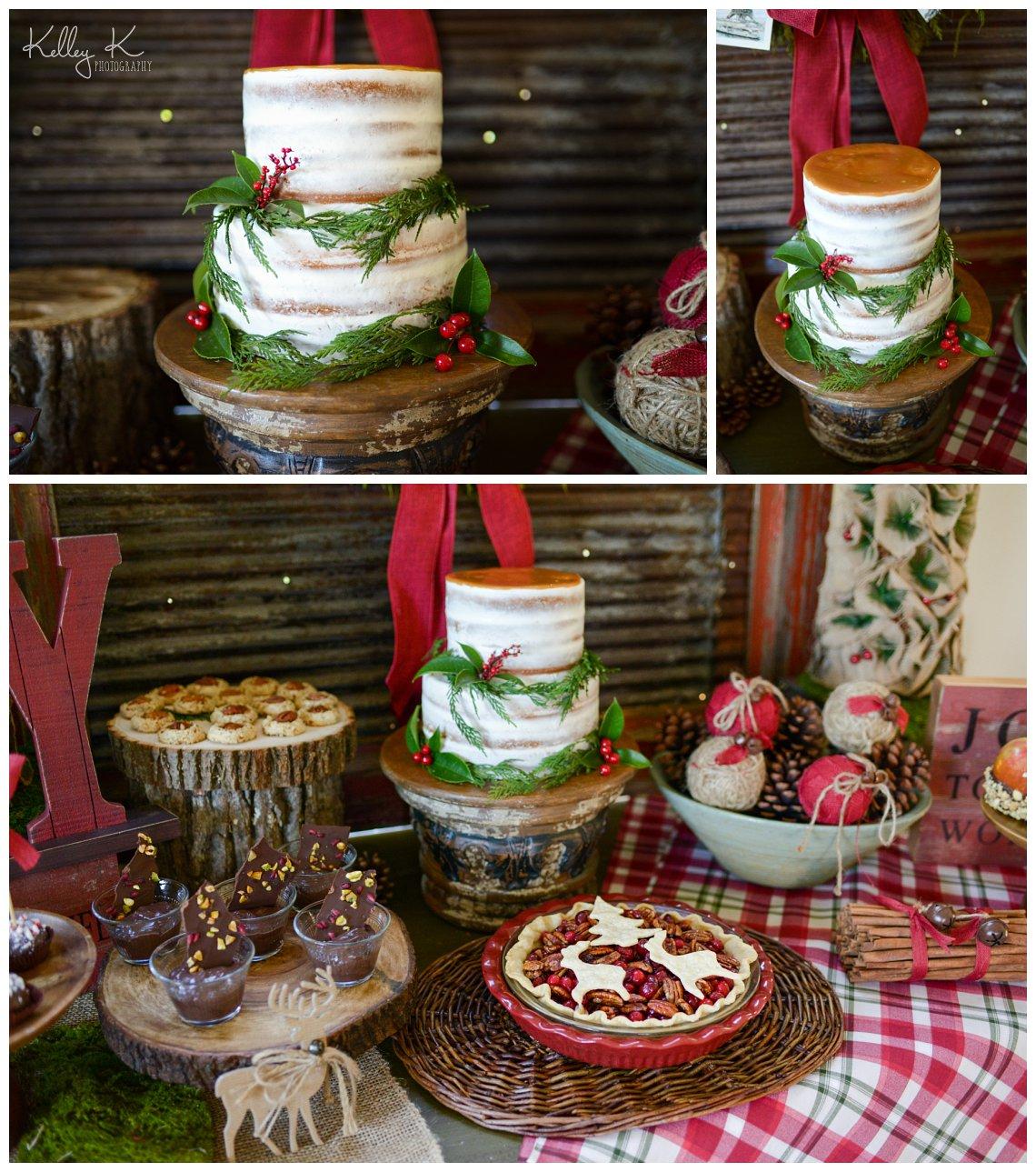 Smyrna-GA-Christmas-cake-desserts-KelleyKPhotography
