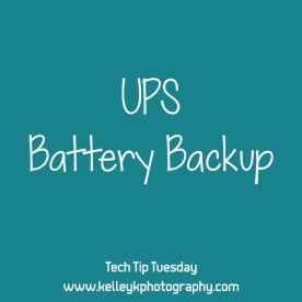 Tech Tip: UPS Battery Backup