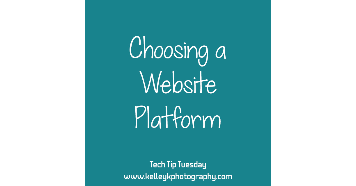 Tech Tip: Choosing a Website Platform