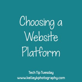 Tech Tip: Choosing a Website Platform