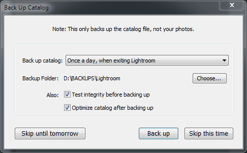 Lightroom-catalog-settings-backup-frequency