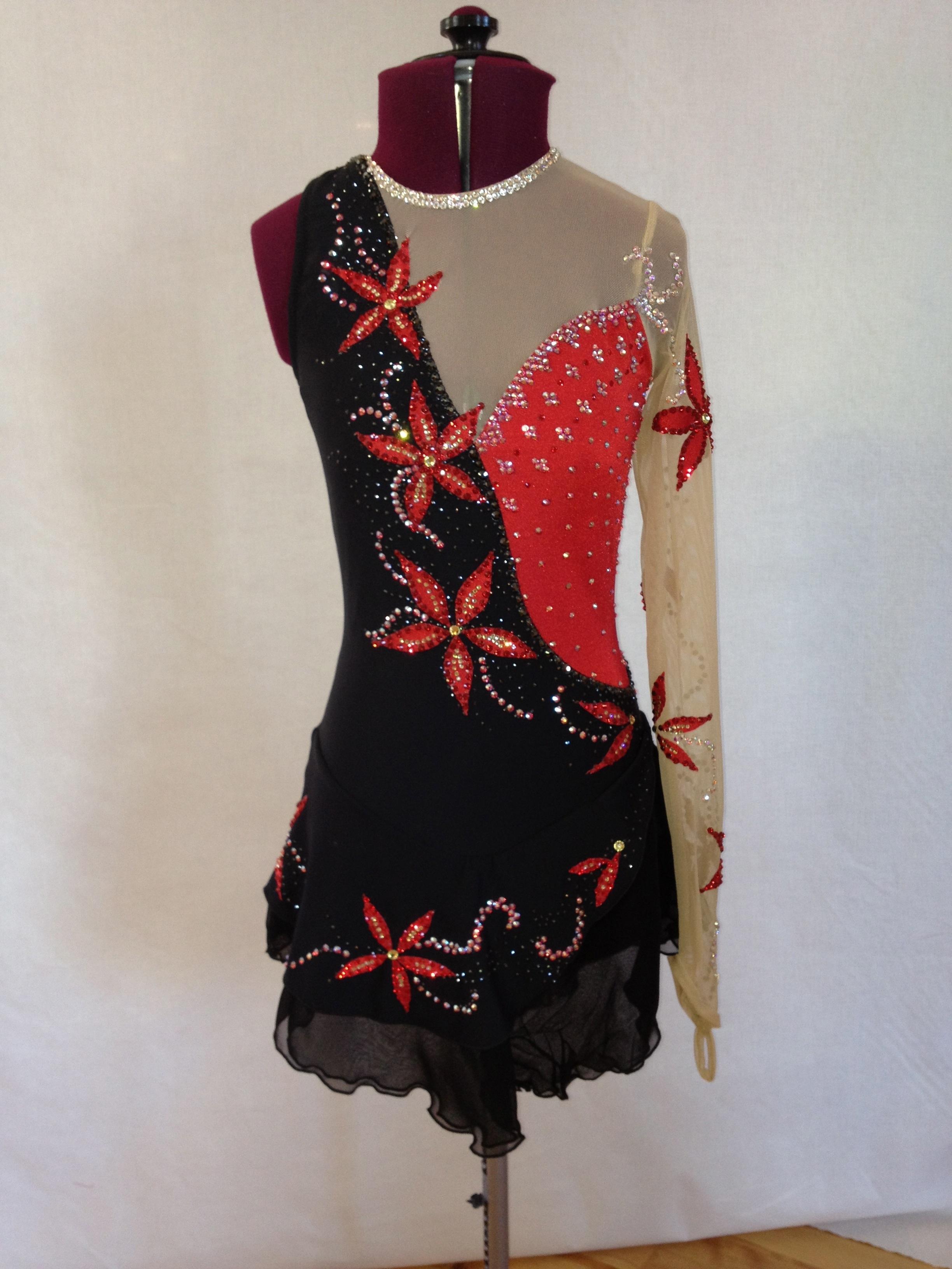 Custom Figure Skating Dress