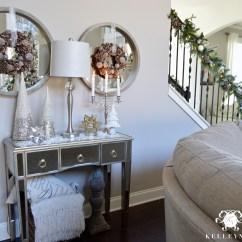 Christmas Decorating Ideas For Sofa Table Ikea Sleeper Balkarp 2015 Home Tour Kelley Nan