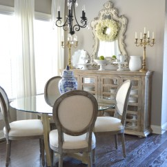 Hobby Lobby Table And Chairs Wwe Steel Chair Hits Breakfast Room Makeover | Easy Chalk Paint Diy - Kelley Nan