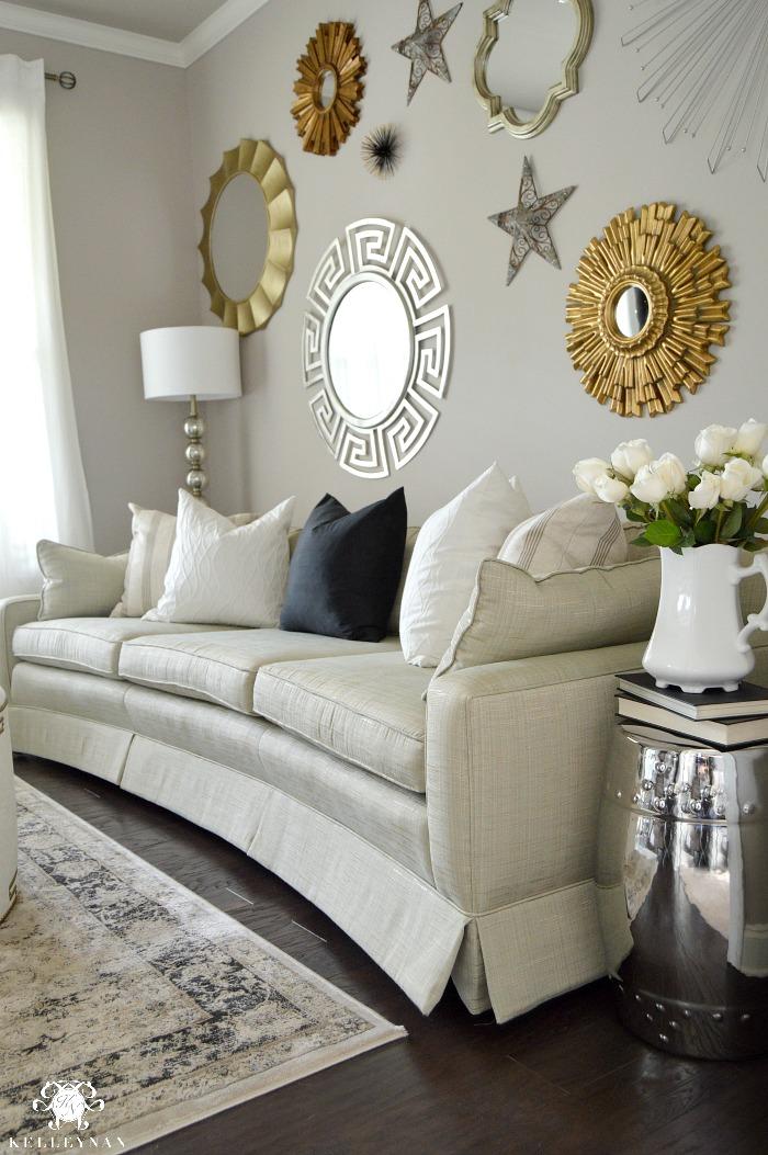black sofa living room images oz design ottoman bed formal tour