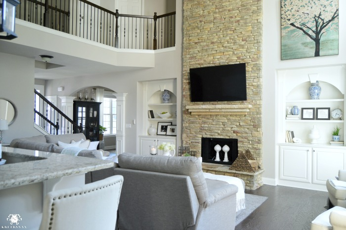 decorate living room with no fireplace help decorating my form vs. function in the family room: balancing pretty ...