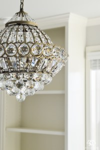 One Room Challenge- Week 3: A Crystal Chandelier for the ...