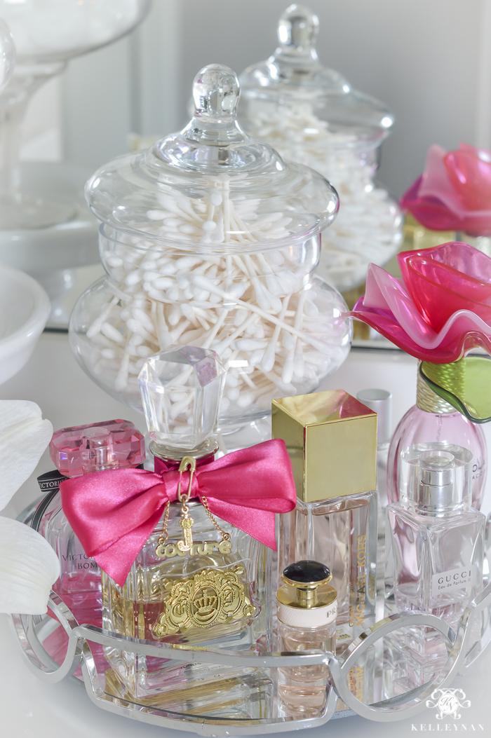 Vanity Makeup Drawer and Bathroom Cabinet Organization