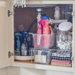 Kitchen Organization Products Black Cabinet Handles For Under The Sink Kelley Nan
