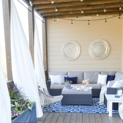 World Market Chair Cushions Joya Rocking Review A Porch Makeover And Relaxing Date Night On The Deck - Kelley Nan