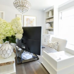 Living Room Desk Pop Ceiling Designs For In Nigeria Hide Computer Cords When Your Is The Center Of How To With A