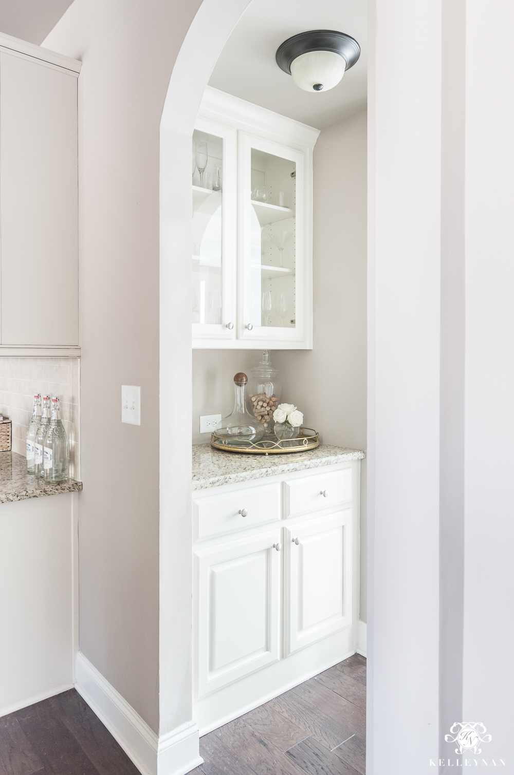 Organization Ideas For A Small Butlers Pantry Kelley Nan
