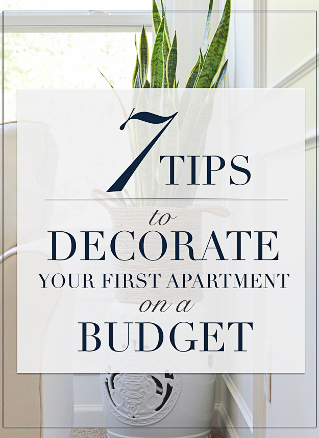 Seven Ways to Decorate Your First Apartment on a Budget  Kelley Nan