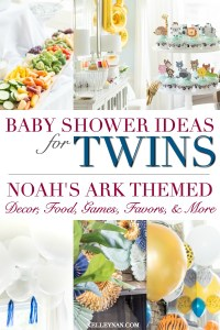 Baby Shower Ideas for Twins (& Ways to Incorporate a Noah ...
