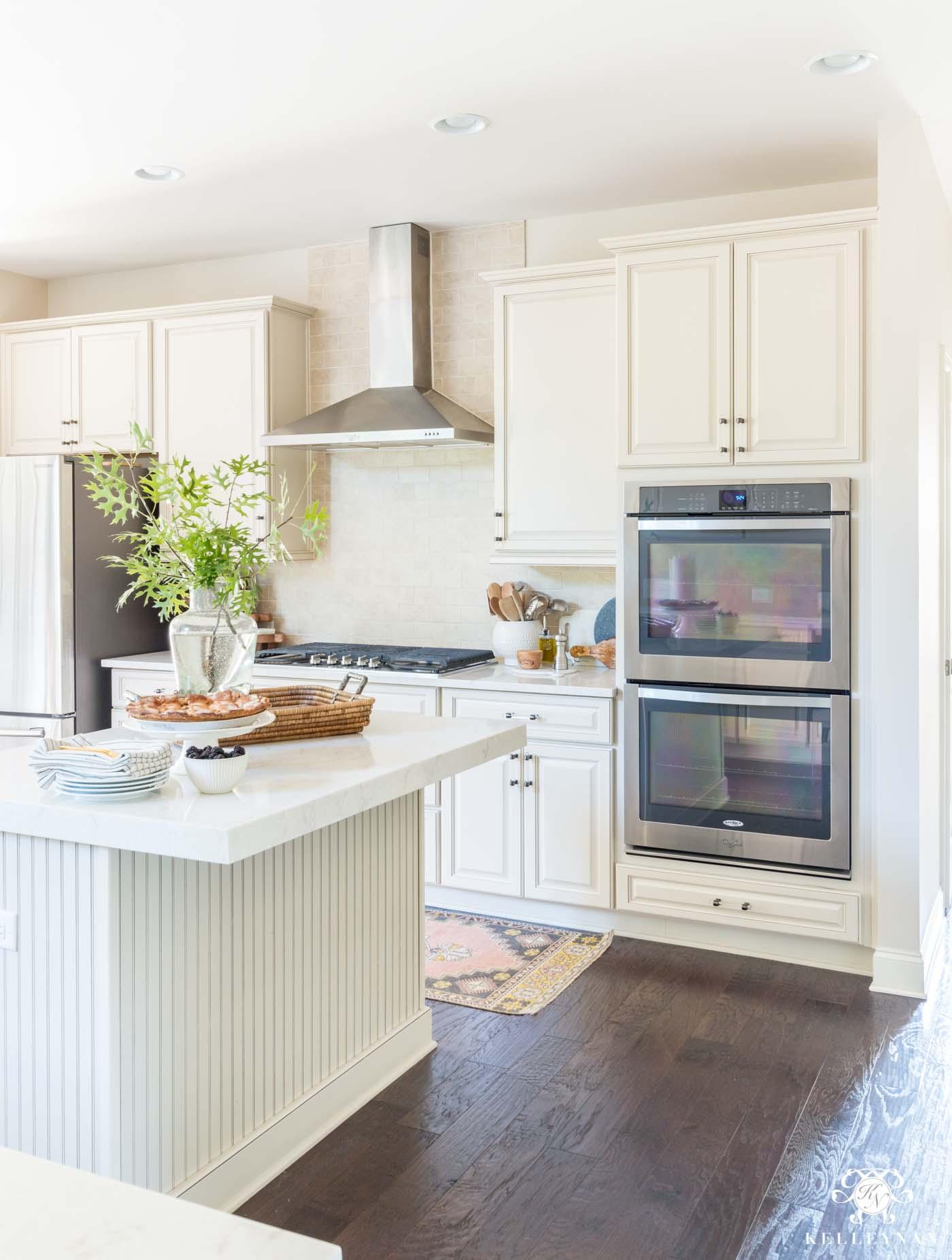 traditional cream kitchen more modern