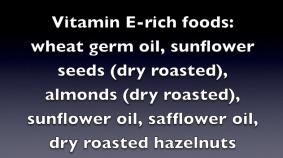 Vitamin E-rich foods