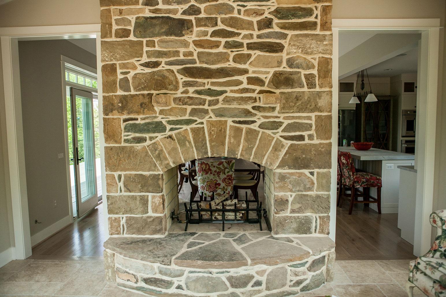 Masonry Fireplaces  Loudoun County  Kelleys Masonry