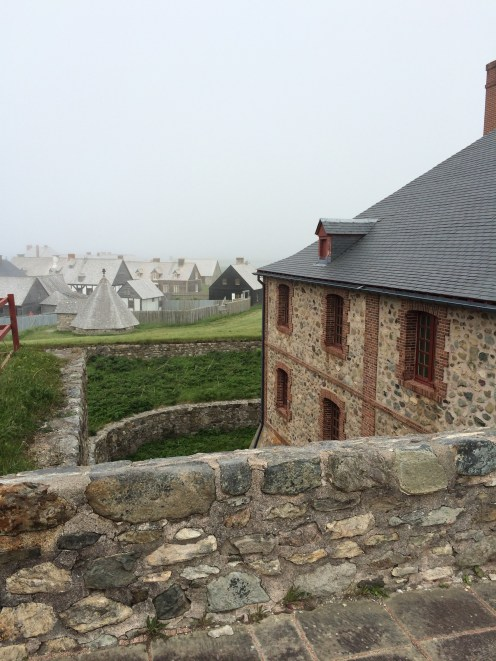 Only one-quarter of the original Louisbourg community in the Fortress has been rebuilt, but even that much is extensive.