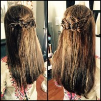 Fun Hairstyles For Long Straight Hair