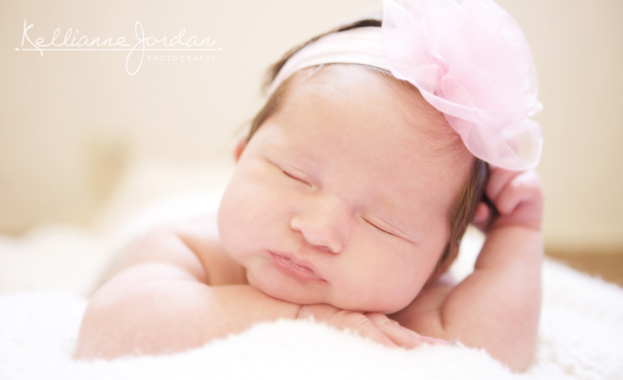 Newborn Baby Girl Portraits