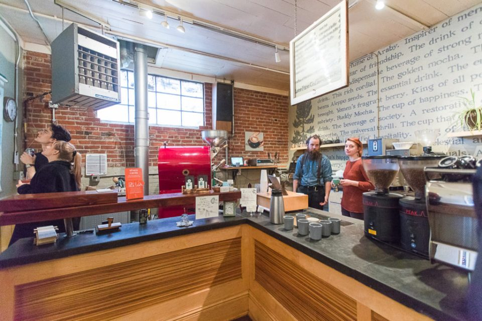 Lone Pine Coffee Roasters, Downtown location closes, goodbye party, bend coffee shop