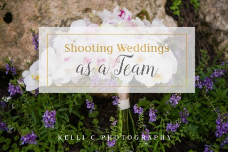 Working as a Husband and Wife Photography Team makes the Wedding day so much smoother and more fun.