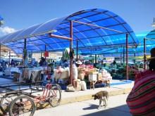 Market in the Lupaca Aymara Reserve