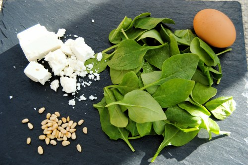 spinach pie ingredients