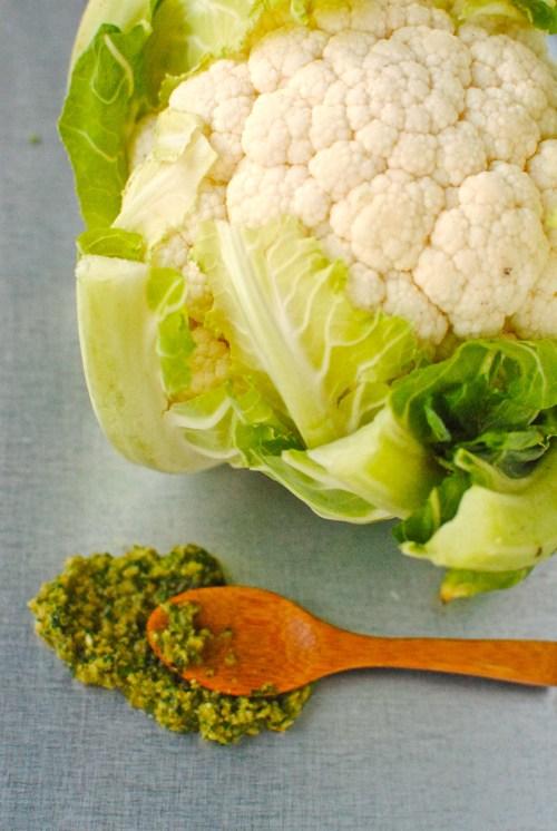 cauliflower and tapenade