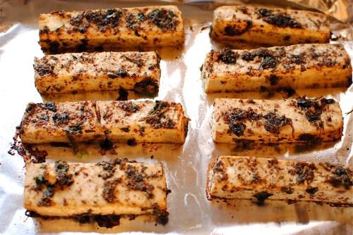 tofu shawarma