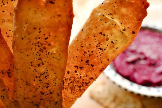 fennel seed flatbread crackers