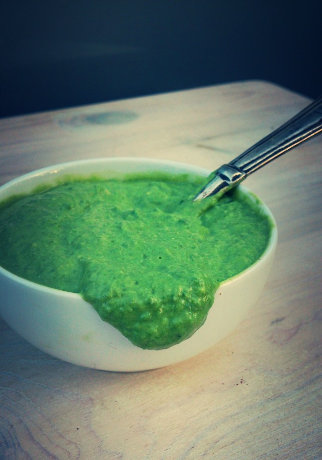 spinach-tofu-puree