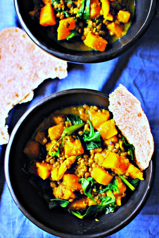 butternut squash curry