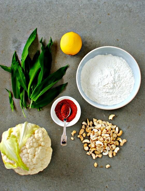 creole cauliflower bites