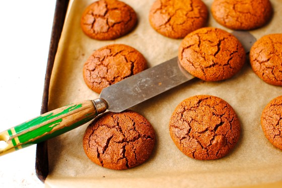 soft molasses cookie (grain free)