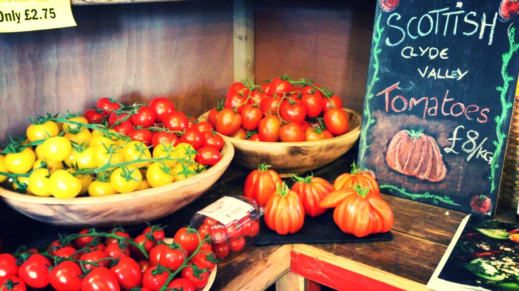market tomatoes by food to glow