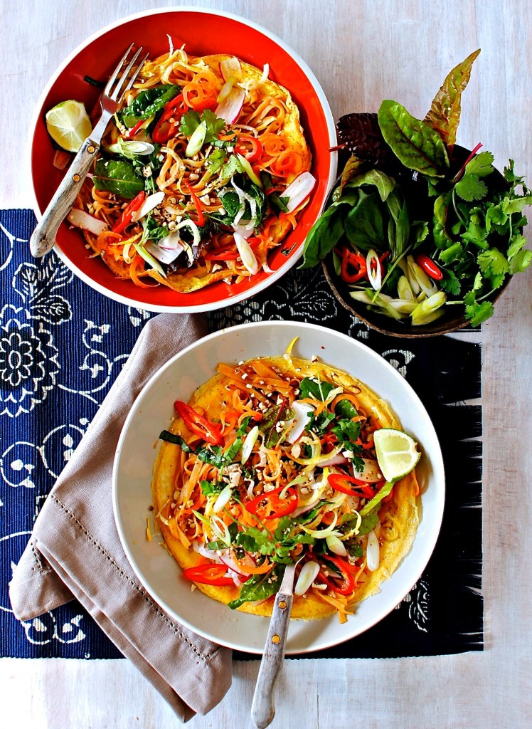pad thai crepes by food to glow