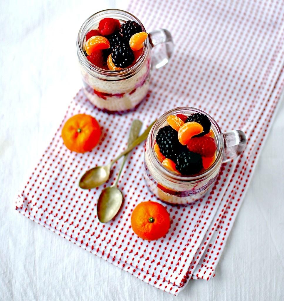 berry-burst chia pudding