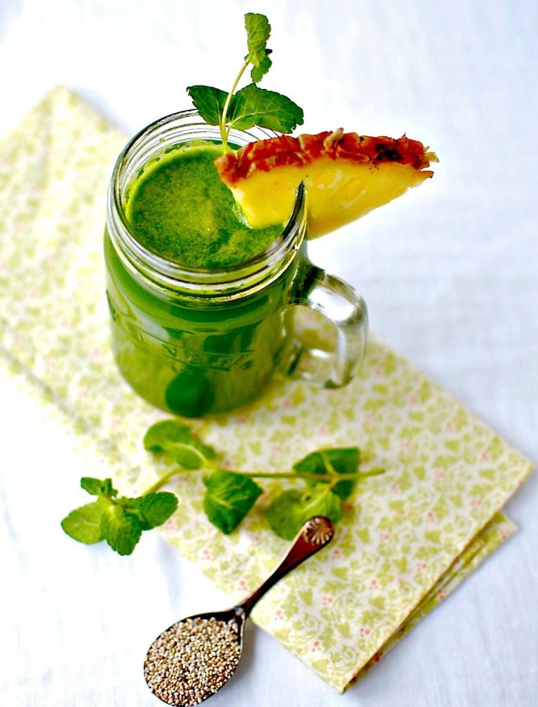 happy tummy tonic juice - food to glow