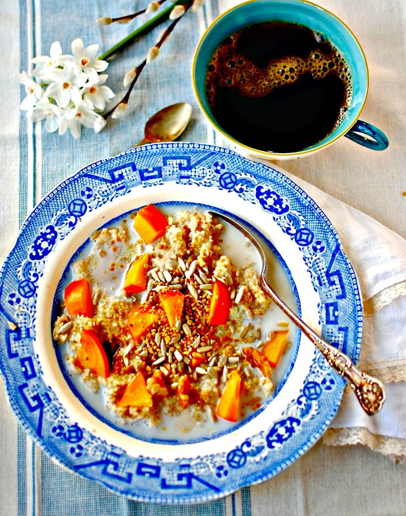 Bee-Pollen-Porridge-food-to-glow