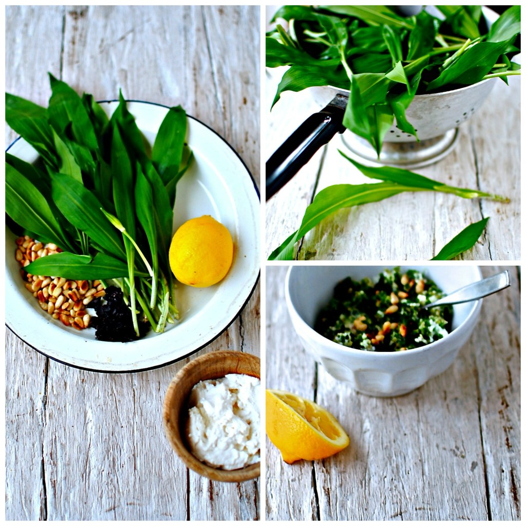 wild-garlic-collage by food to glow