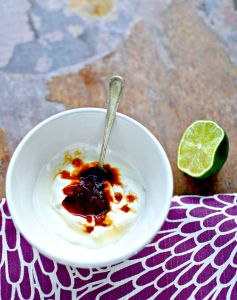 cheat's spicy crema - ridiculously simple