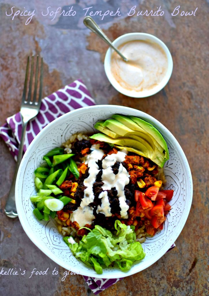 Win friends and influence people by turning your kitchen into your own vegan Chipotle! We love this spicy tempeh sofrito as a colourful burrito bowl but it is equally good wrapped in soft corn tortillas, in Romaine leaves for a carb-free option or in quesadillas. We've even had leftovers in an omelet.