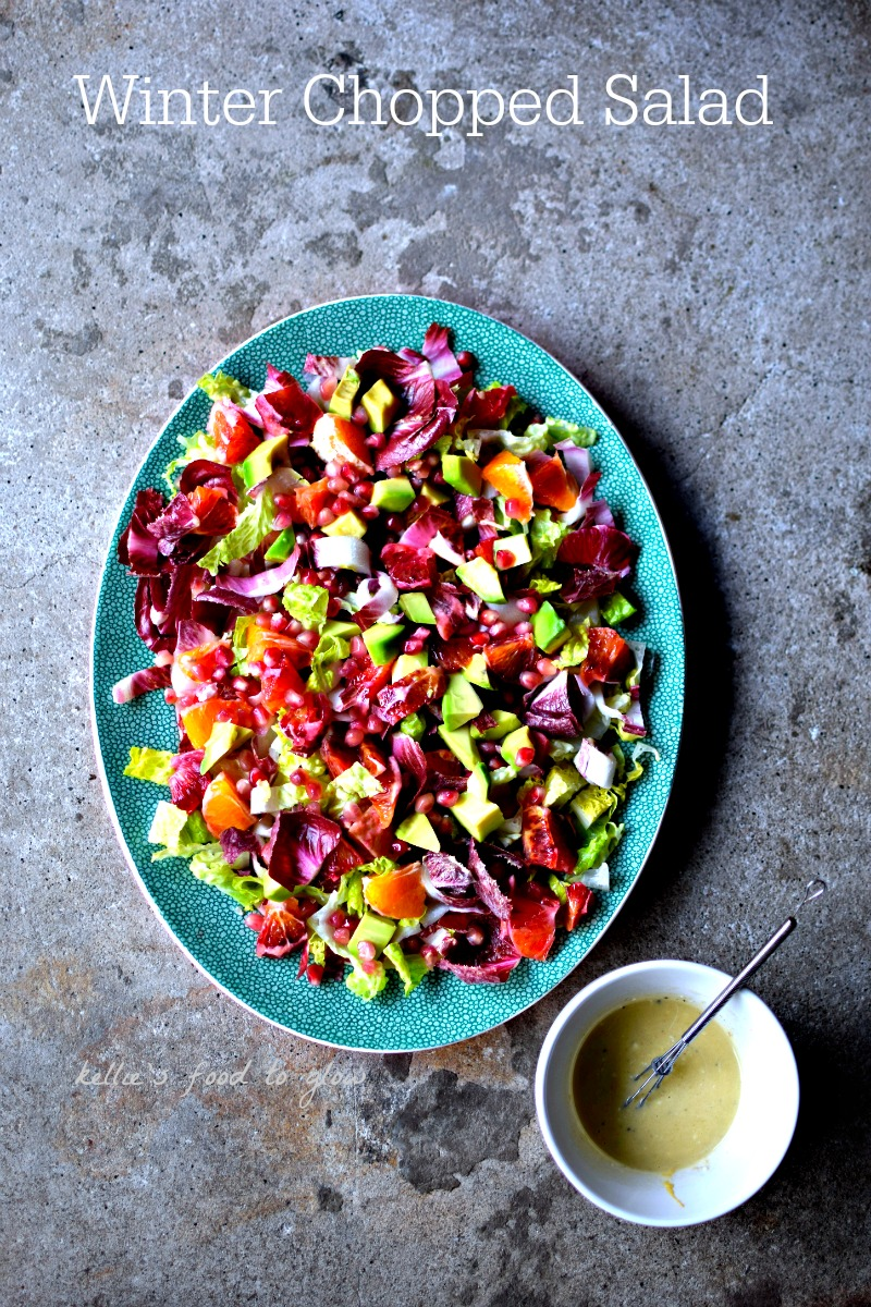 Satisfy winter cravings for colour and the illusion of warmth with this bright and bold salad with its creme fraiche, honey and sherry vinegar dressing. To make it more of a meal add in toasted nuts and seeds, chicken or cubes of cheese.