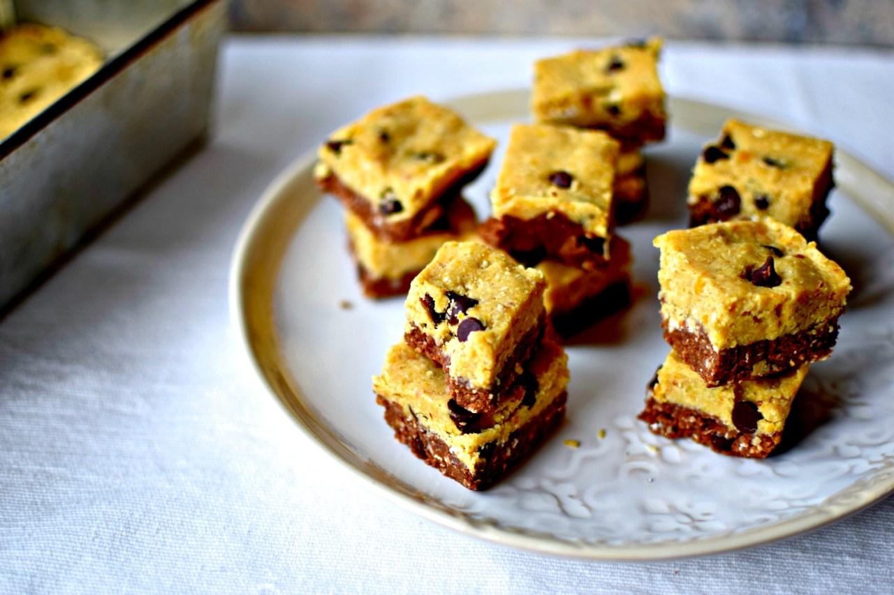 no-bake-cookie-dough-brownie-bites3