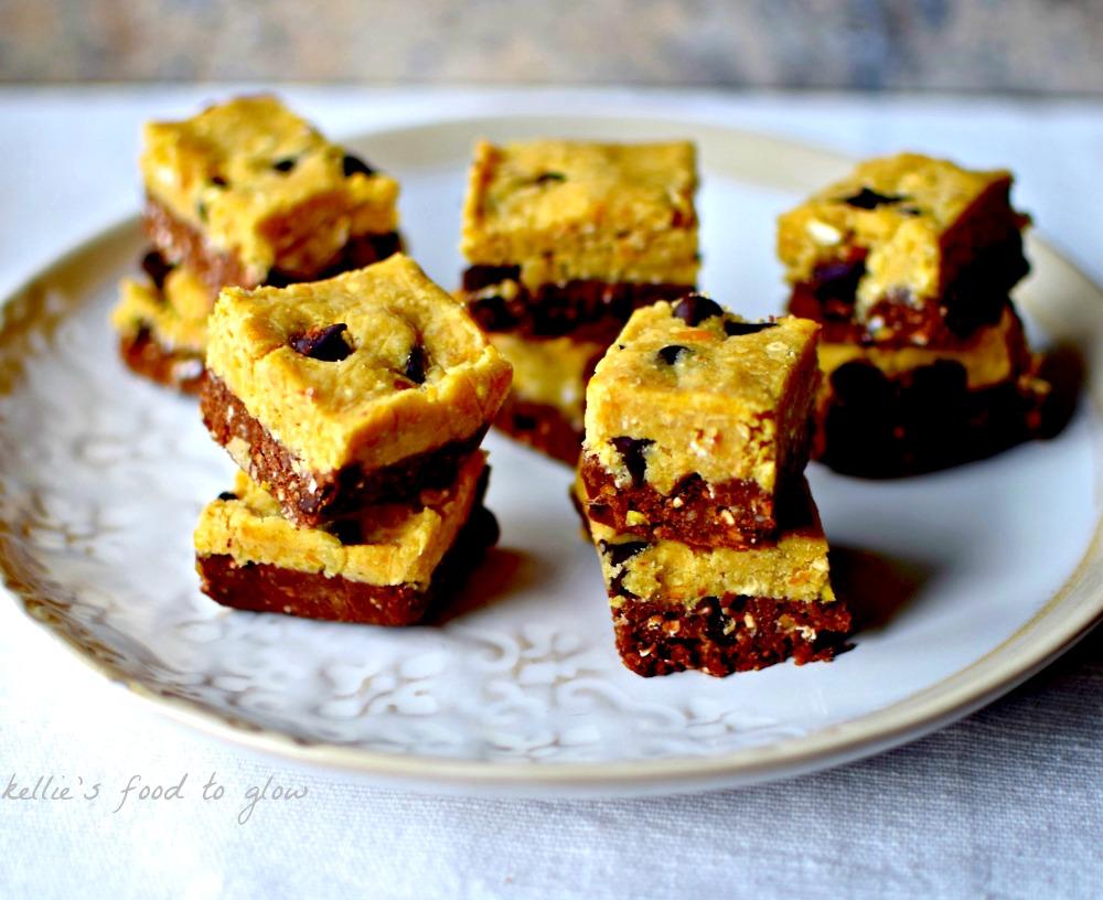 no-bake-cookie-dough-brownie-bites5