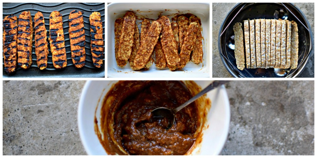 Griddled Miso And Sweet Ginger Glazed Tempeh Food To Glow