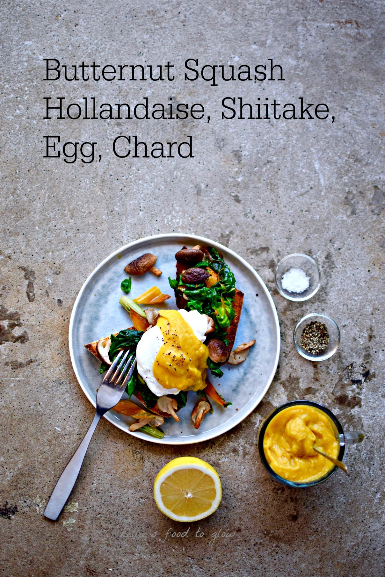 Blend steamed butternut squash with a few key ingredients and you have a credible whole food hollandaise sauce for topping your eggs, veggies, pasta - and anything else that takes your fancy. Once made, this sauce will be your go-to for luxurious but nutritious breakfasts, and more.