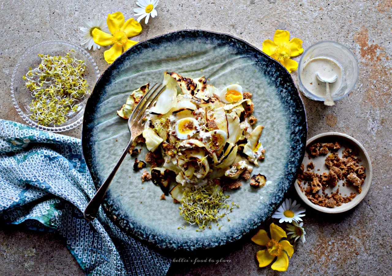 how to make low fat caesar salad dressing